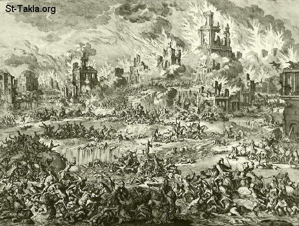 St-Takla.org Image: Destruction of Jerusalem ���� �� ���� ������ ����: ���� ���� �������