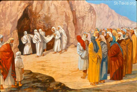 Image The Death Of Abraham And His Burial صورة موت