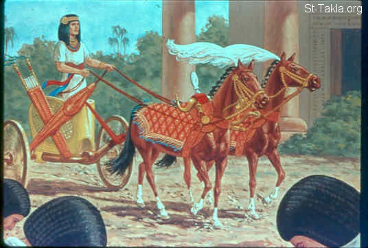 Image Pharaoh Had Joseph Ride In The Second Chariot Which