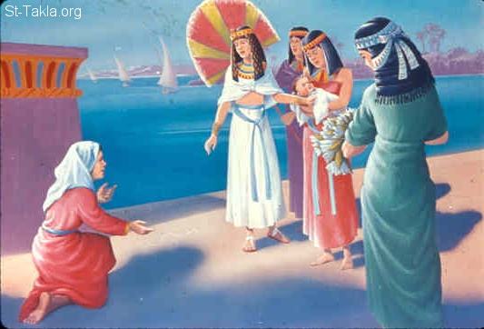 The reluctant moses puts his faith in god