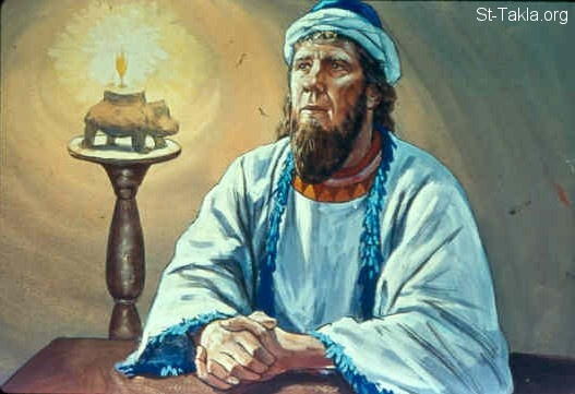 Image: God speaks to Balaam<br>صورة الرب يكلم بلعام