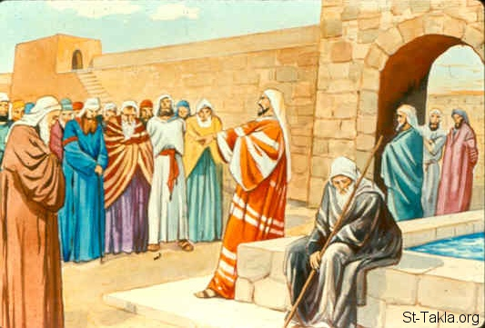 St-Takla.org Image: Nehemiah rebukes the nobles and rulers because they were exacting usury from their Jewish brethren (Nehemiah 5:7-13) صورة في موقع الأنبا تكلا: نحميا ينتهر عظماء الشعب بسبب الربا مع إخوتهم (نحميا 5: 7-13)