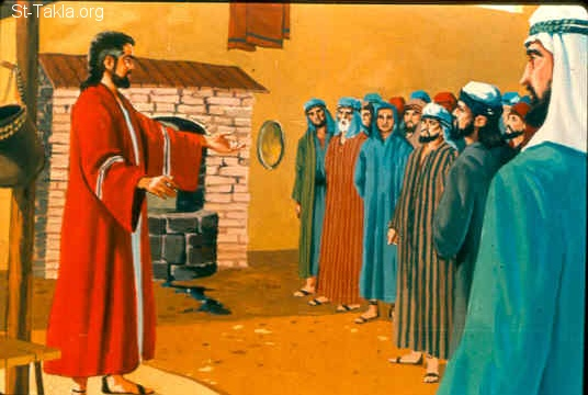 St-Takla.org Image: Hosea speaks to His people (Hosea 4:1-5) ���� �� ���� ������ ����: ���� ���� ���� (���� 4: 1-5)