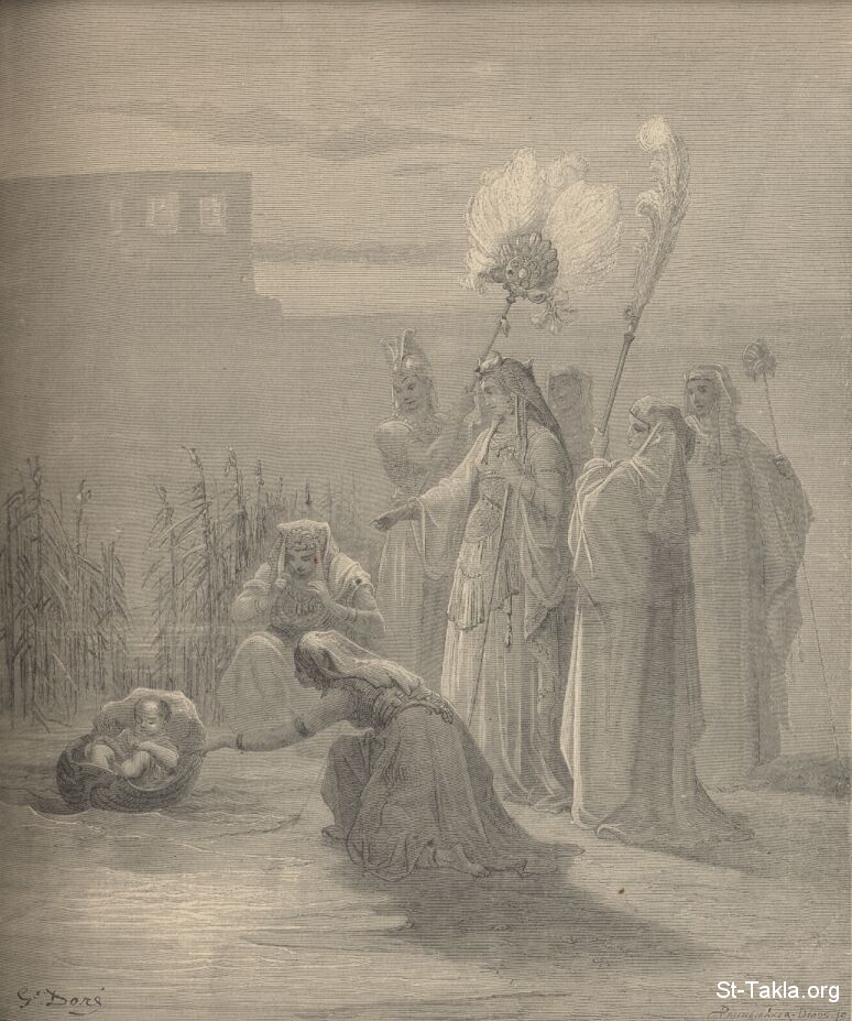 St-Takla.org Image: Moses by Gustave Dore ���� �� ���� ������ ����: ���� ����� ������ ������ �����