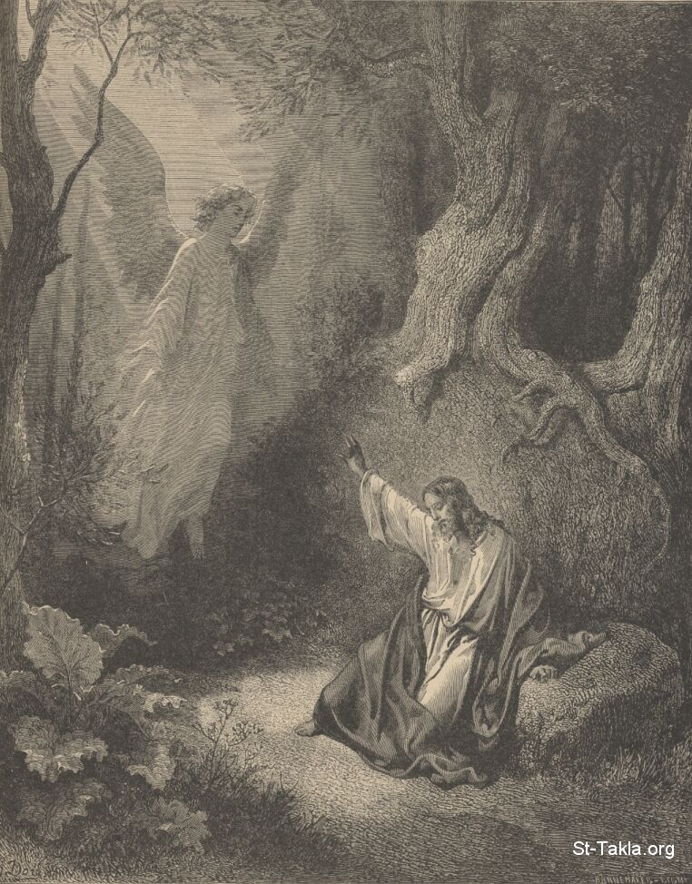 image  agony   garden paul gustave dore  bible