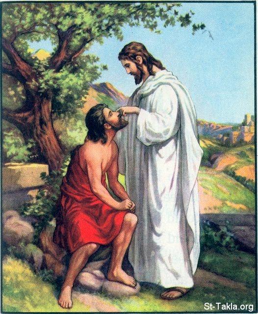 картинки иисус исцеляет слепого обязательно выберетесь
