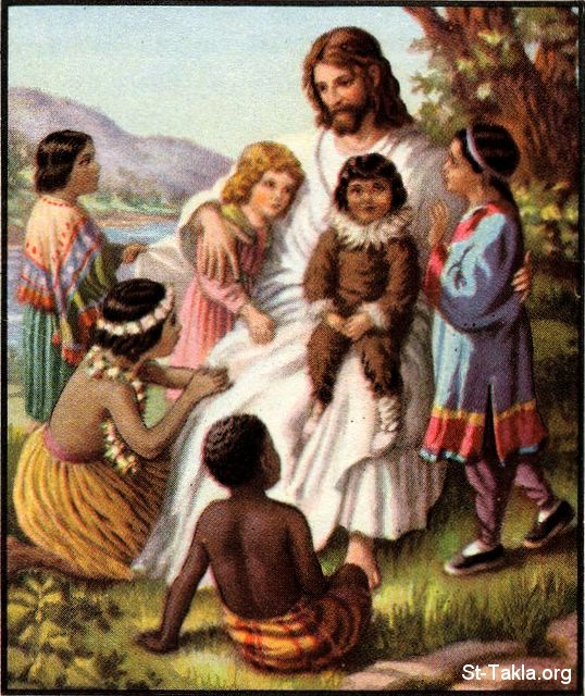 Image Jesus And Children From All Nations