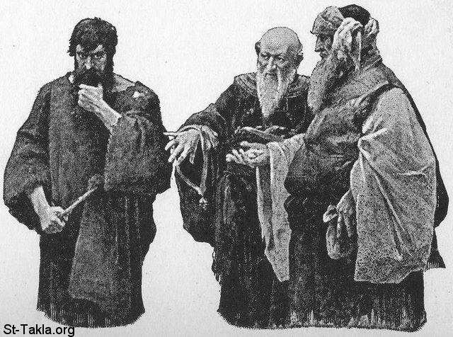 شيوخ اليهود يتآمرون