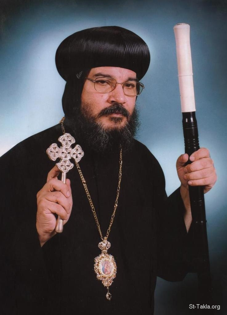 St-Takla.org Image: His Grace Bishop Makarious the General Coptic Bishop - El Menia and Abo Korkas Perish ���� �� ���� ������ ����: ����� ����� ������ ������ ������� ������ ����� ������ �������� ������ ���� �����