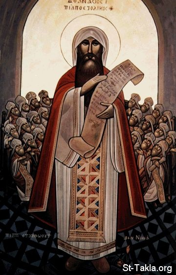 St-Takla.org           Image: Saint Athanasius the Pope of Alexandria # 20, defender of the faith ����: ������ ��������� ������� ���� ������� ���� ���������� �������
