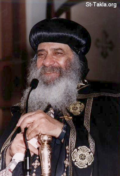 St-Takla.org Image: His Holiness Pope Shenouda III giving a lecture ���� �� ���� ������ ����: ����� ������ ����� ������ ���� ��� ���������
