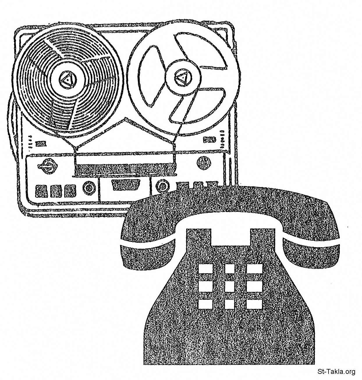 Image: Phone Record صورة تليفون، مسجل