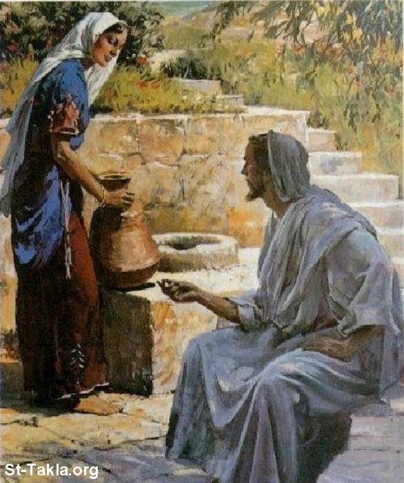 What should we learn from the woman at the well?