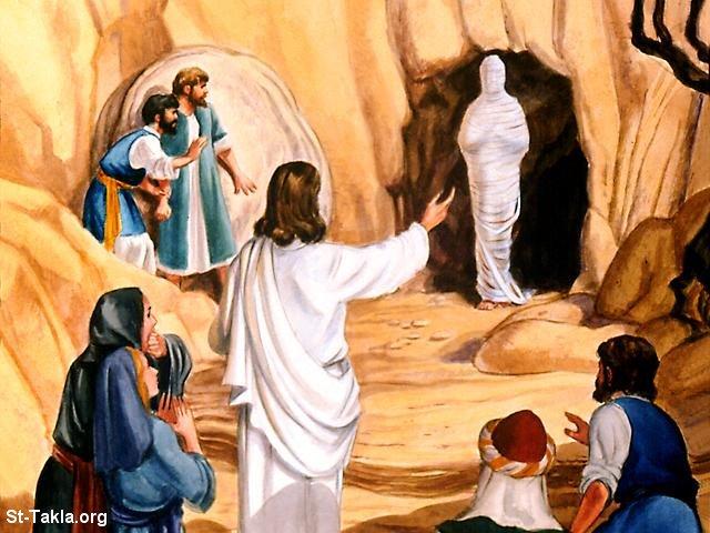 Hasil gambar untuk Jesus Miracle Lazarus