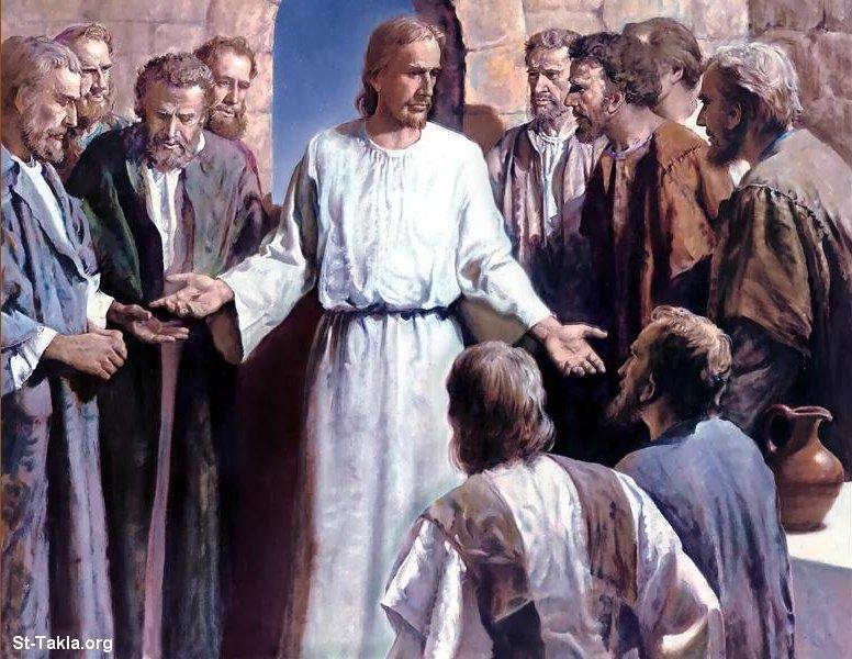 فَوبَّخَهُم بِعَدَمِ إِيمانِهِم وقَساوَةِ قُلوبِهم