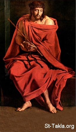 St-Takla.org Image: Passion of Jesus, The Red Robe ���� �� ���� ������ ����: ���� �� ���� ����� �����͡ ������