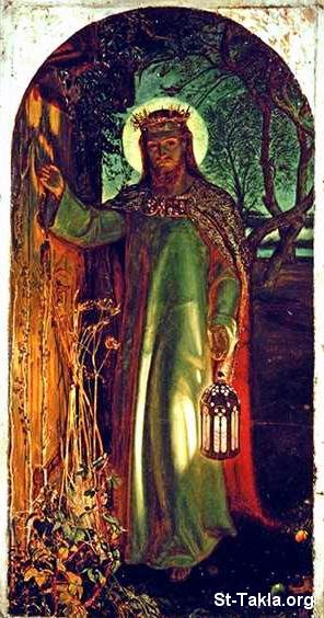 Jesus Knocking At The Door Painting Holman Hunt
