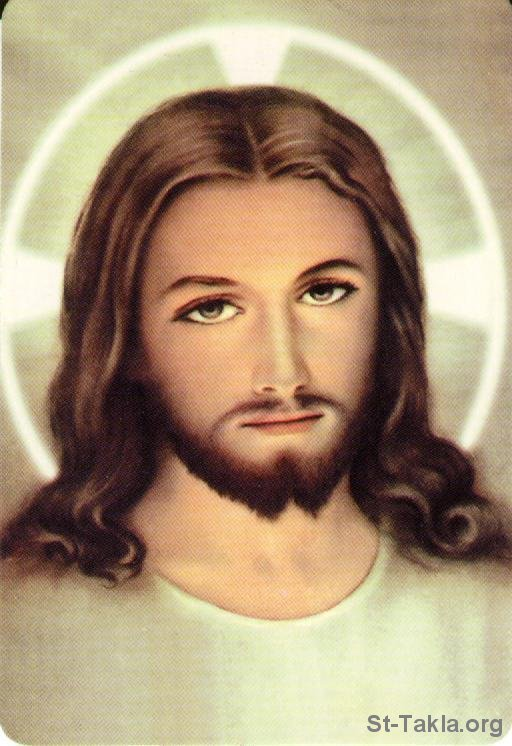 Image: Holy Face of Jesus 01 3 صورة: http://st-takla.org/Gallery/Jesus-Christ/28-Face-of-Jesus/Holy-Face-of-Jesus-01-3.html