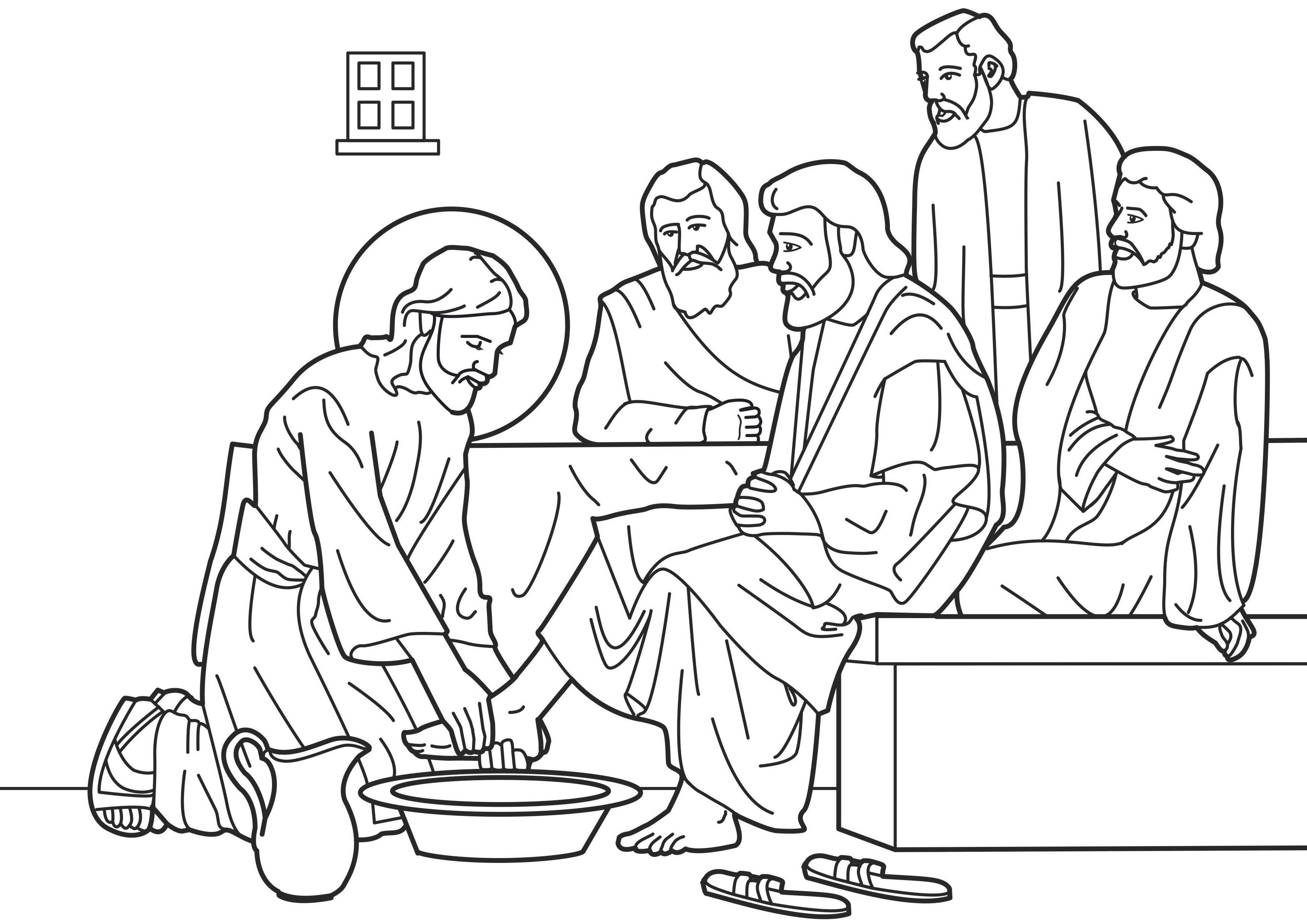 1000 Images About Kleurplaten Nieuwe Testament Bible