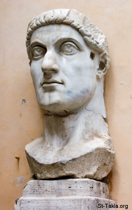 St-Takla.org Image: Head of Constantine's colossal statue at the Capitoline Museum ���� �� ���� ������ ����: ��� ����� ������� ������ ����ѡ ������� ����� �� ���� ���������