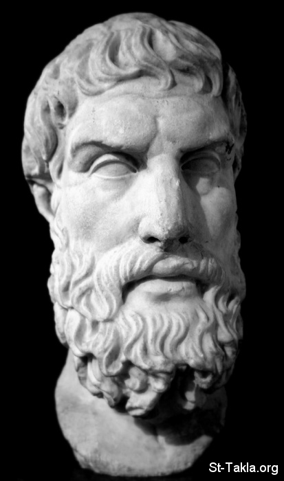 St-Takla.org Image: Marble bust of Epicurus. Roman copy of Greek original, 3rd century BC/2nd century BC. On display in the British Museum, London ���� �� ���� ������ ����: ����� ����� �����ѡ ����� �����ˡ ������ ��������� ����