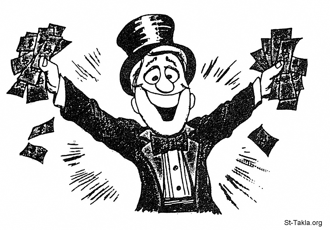 الرجل والمااال!!! Www-St-Takla-org--Man-Money-08