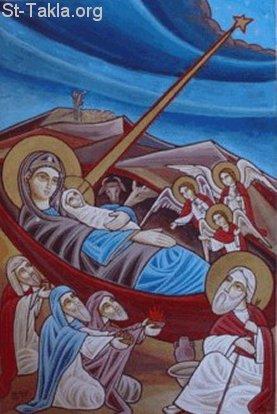 السلام وأيقونة الميلاد وطنى 7
