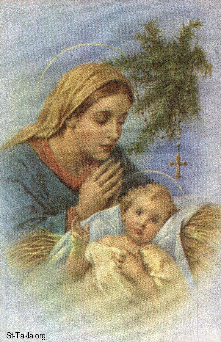 Image Saint Mary Childhood Of Jesus 06 صورة