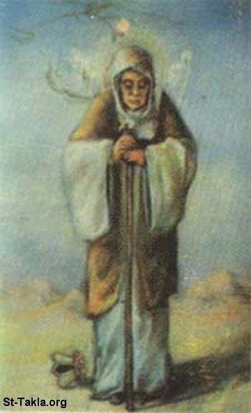 القديسة أناسيمون ملكة الوحوش