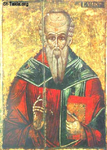 St-Takla.org Image: Icon of Saint Clement of Alexandria, Eklemondos El Sakandary ���� �� ���� ������ ����: ������ ������ ������� ��������� (�������� ��������)