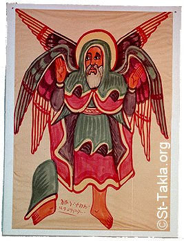 Image: St Tekla 19 by Mammu Asfaw صورة الأنبا تكلاهيمانوت من
