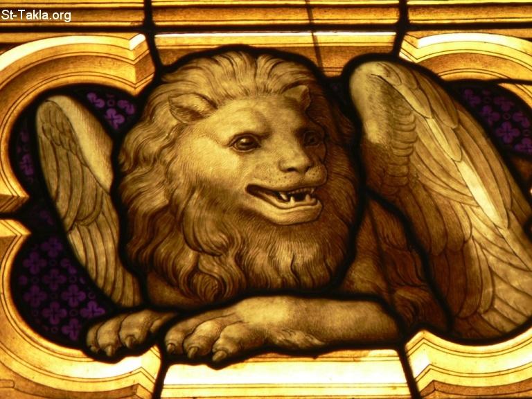 Image 066 Symbol Of St Mark Cologne Cathedral Kolner Dom Germany