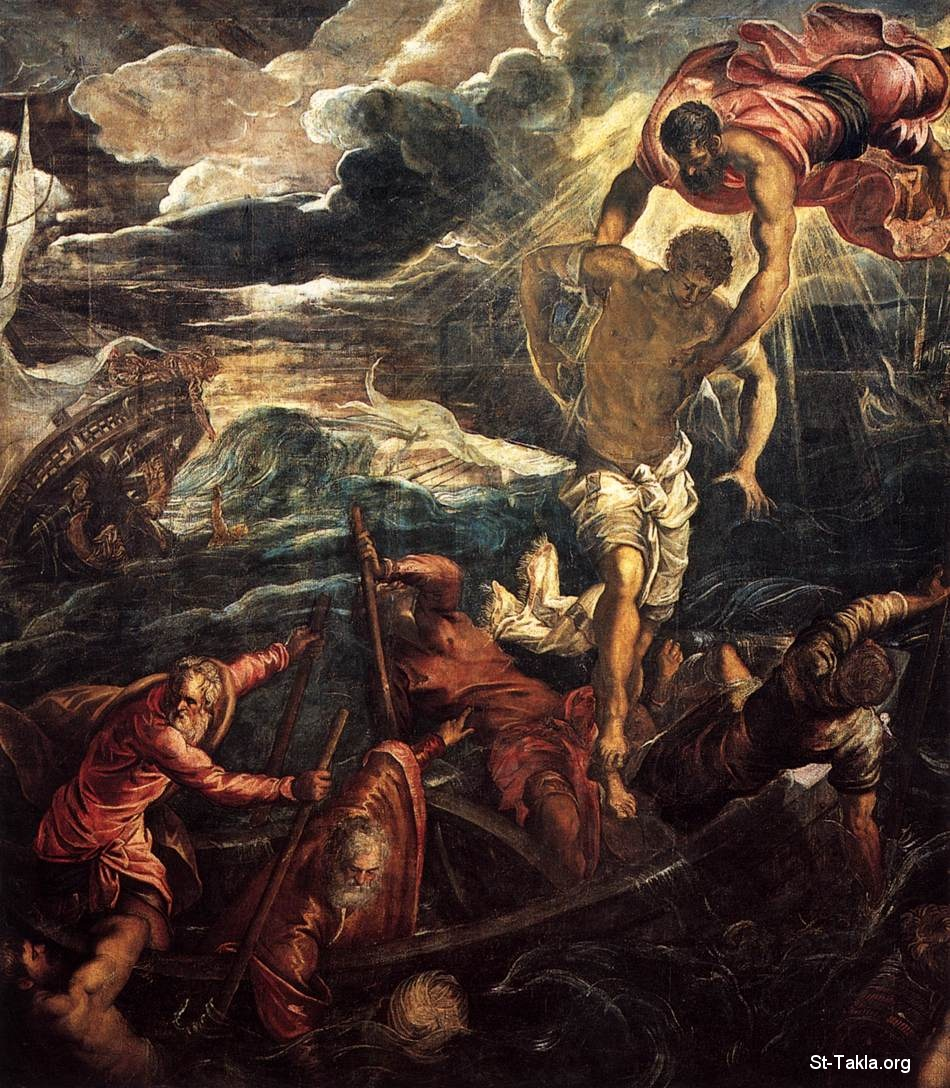 "St-Takla.org Image: Tintoretto - St Mark Rescuing a Saracen from Shipwreck - 1562-66 - Oil on canvas, 398 x 337 cm - Gallerie dell'Accademia, Venice ����: ������ ���� ���� ��������� �� ����� ���ޡ ���� ������ ��������� 1562-66� ��� ��� ���ԡ ����� 398�337 �� ������ �� ���� ���� �������� ������ ������� - �� ���� �� ���� �� ������ �������� �� ������ �� �ǡ ��� ����� ������ ��� ���� ""���� �� �����"" ������� �� ������..  ������ �� �����.."