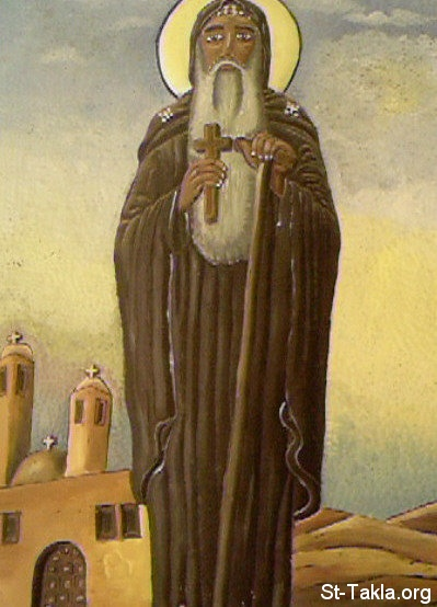St-Takla.org Image: Saint Moses the black, contemporary Coptic engraving ���� �� ���� ������ ����: ������ ������ ���� �����ϡ ��� ���� ����