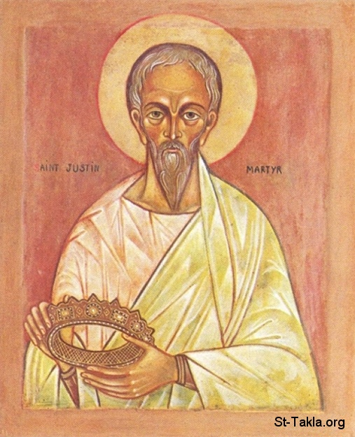 St-Takla.org         Image: Saint Justin Martyr, Yostinos, Youstinous el Modafea ����: ������ ������ �������� �������