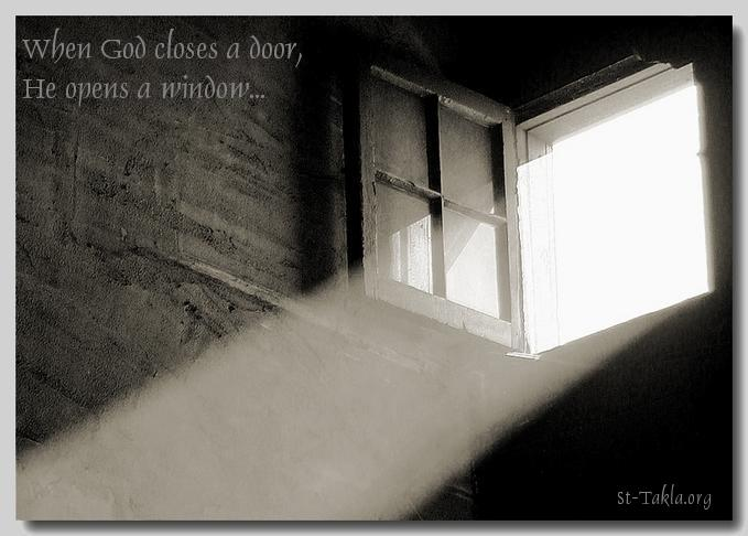 Image Quote When God Closes A Door He Opens A Window