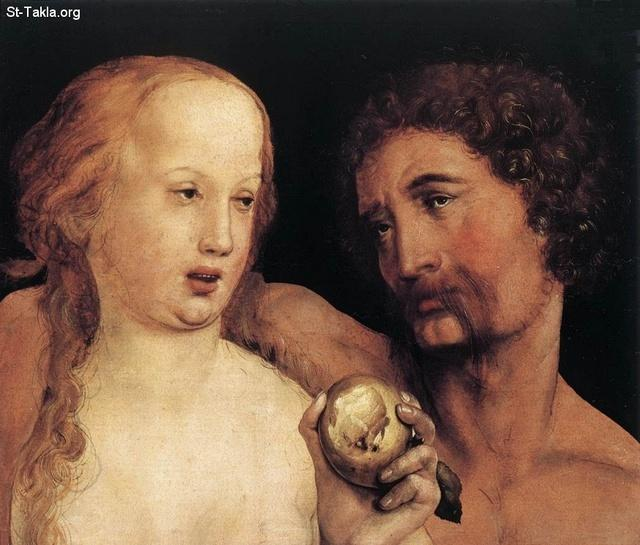 St-Takla.org Image: Hans the Younger Holbein - Adam and Eve - 1517 ���� �� ���� ������ ����: ��� ������ ��� ���ҡ ������� �����ѡ 1517