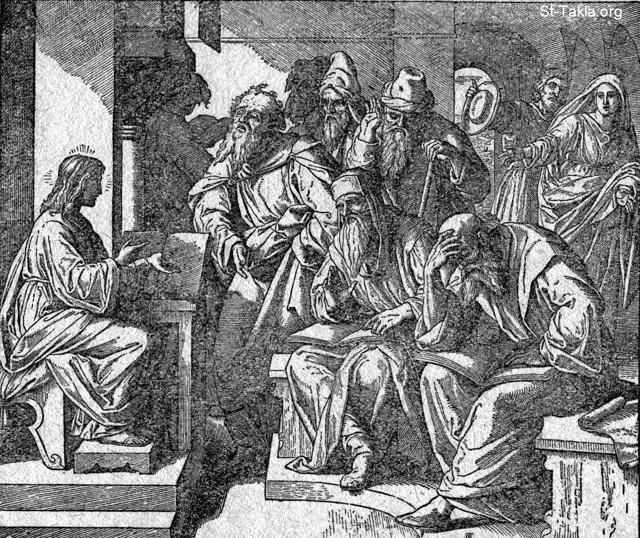 Image: jesus disputing with the doctors