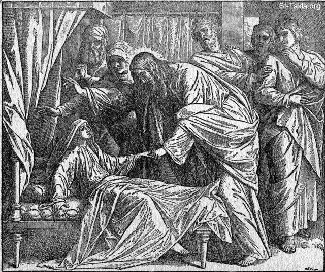 Image: the raising of the daughter of jairus