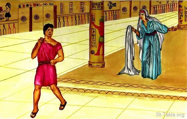 Image: 24 Joseph and Potiphar s wife
