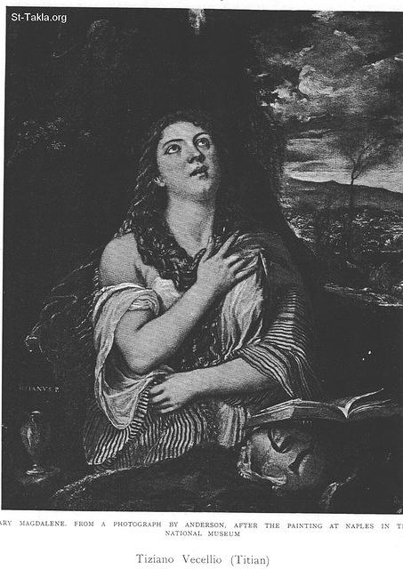 St-Takla.org Image: Mary Magdalene, by Tiziano Vecelio (Titian) ���� �� ���� ������ ����: ���� �������ɡ ��� ������ �������� �������� (�����)