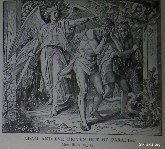 Image: Adam and Eve driven out of paradise