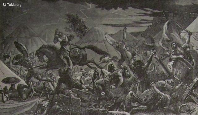 Image: Destruction of Sennacheribs army
