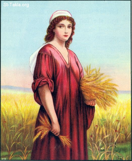 Image: 16 Ruth gathers grain