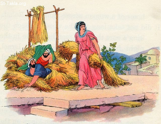 Image: 14 1 Rahab hiding the spies