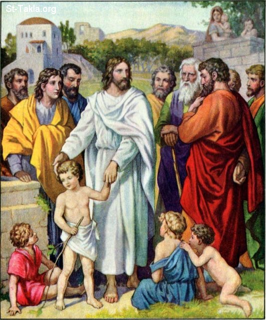 Image: 14 Jesus and the Little Children 2