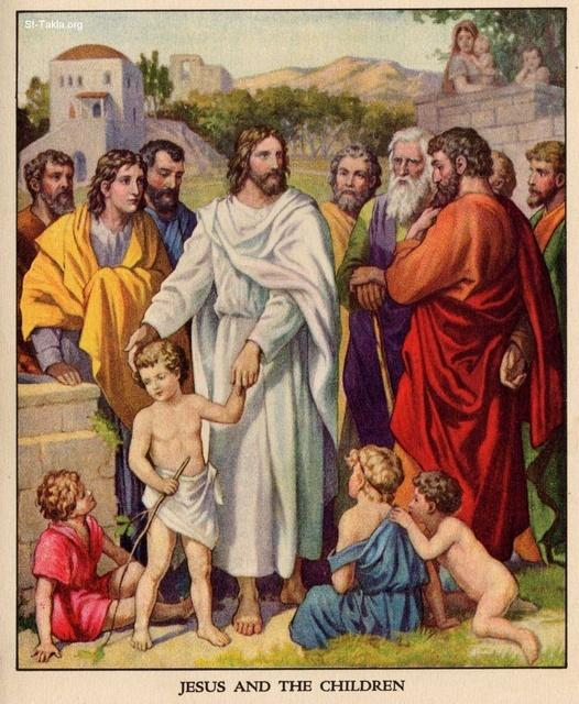 Image: 14 Jesus and the Little Children 3