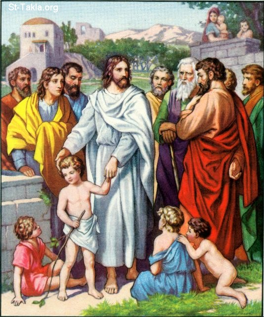 Image: 14 Jesus and the Little Children