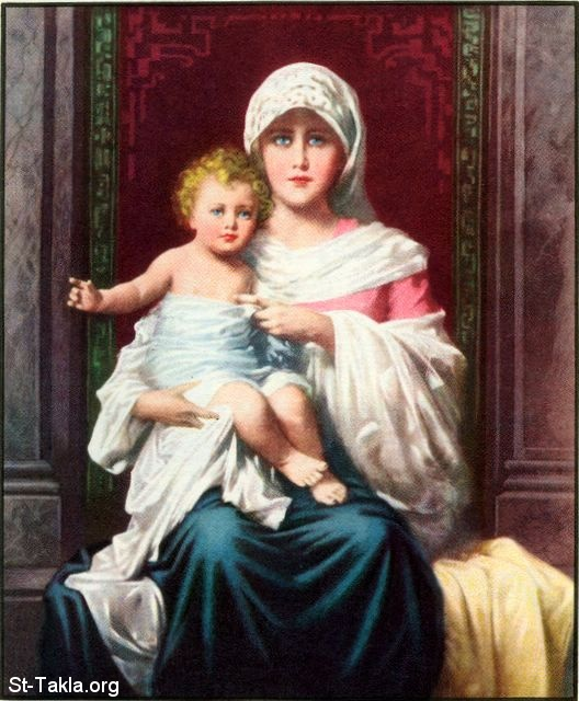 Image: 19 Mary with the Child Jesus