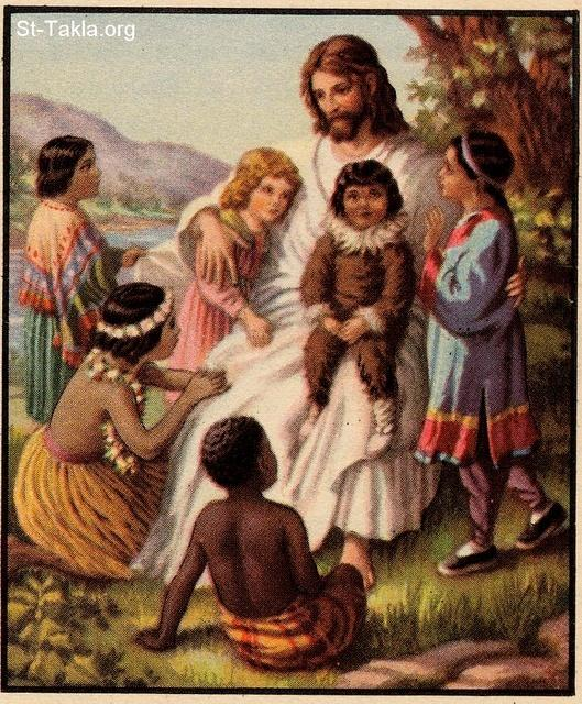 Image: jesus and children from all nations 2